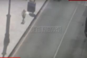 A filmat cum o femeie este bagata in portbagaj si a sunat la 112 sa anunte rapirea. Ce a gasit Politia cand a oprit masina