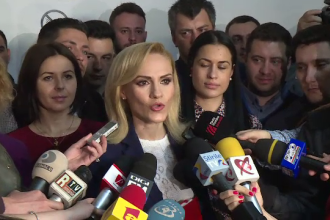 Gabriela Firea, candidatul PSD la Capitala.