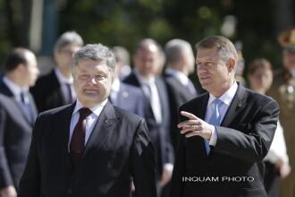"""Ucraina, """"decepționată"""" după ce Klaus Iohannis și-a anulat vizita"""