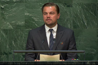 Mesajul lui Leonardo DiCaprio catre liderii lumii, la Paris: