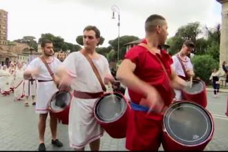 Roma, sarbatorita cu mare fast la aniversarea celor 2.769 de ani de existenta. 300.000 de turisti, prezenti la eveniment