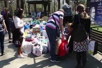 Ajutor nesperat pentru mai multe familii sarmane din Iasi. Oamenii darnici s-au mobilizat pe retelele de socializare