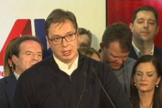 Rezultate oficiale in Serbia. Alexandar Vucici a castigat alegerile prezidentiale, din primul tur