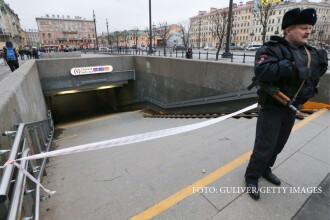 Explozie cu 10 morti si 37 de raniti, la metroul din Sankt Petersburg. Ar fi vorba despre un atac sinucigas