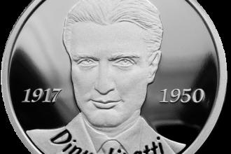 BNR lanseaza o moneda de argint la aniversarea a 100 de ani de la nasterea lu Dinu Lipatti. Cat costa