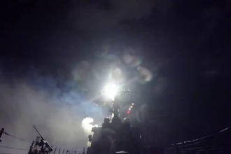 Siria: Un avion a bombardat localitatea Khan Sheikhoun la doar cateva ore dupa atacul lansat de SUA