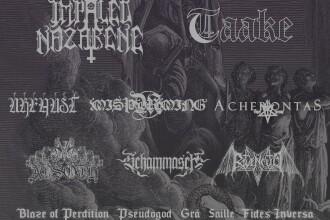 Editia a 2-a a festivalului de metal Rites of the Black Mass, la Bucuresti. Peste 20 de trupe: Taake si Impaled Nazarene