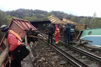 Mecanicii trenului deraiat in Hunedoara stiau ca nu mai pot frana si au cerut cale libera.