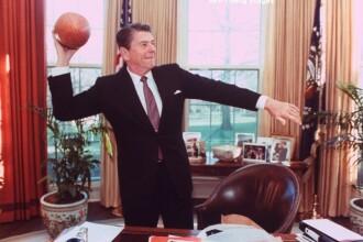 Primaria Capitalei va amplasa in centru o statuie a lui Ronald Reagan. Firea: