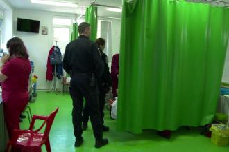 Incident violent la Spitalul de Urgenta din Galati. Ce i-a facut un pacient unei asistente care ii acorda primul ajutor