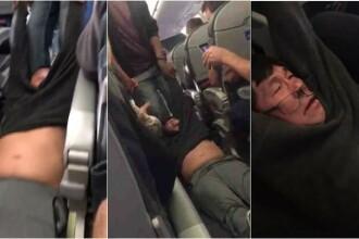 Actiunile United Continental au scazut dupa violenta la care a fost supus un pasager. Val de indignare in mediul online
