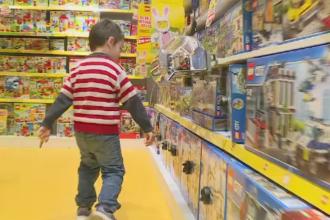 Parintii cauta cele mai potrivite jucarii pentru cei mici, de Paste. Care sunt cele mai dorite de copii