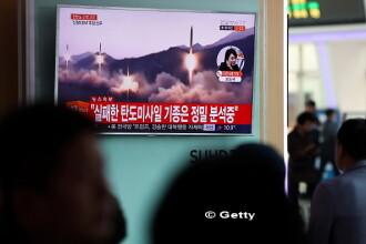 Coreea de Nord a suferit un esec dupa parada grandioasa. Pentagon: Phenianul a incercat sa lanseze o racheta, dar a esuat