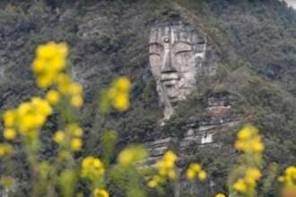 O statuie uriasa a lui Buddha, care ar putea fi cea mai mare din lume, descoperita in China. Cum a stat ascunsa mii de ani
