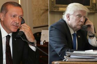 Erdogan a discutat cu Trump despre sistemul antirachetă cumpărat de la ruși