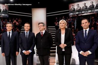 Alegeri prezidentiale in Franta. Sondajele arata diferente mici intre primii 4 candidati, la primul tur electoral de duminica
