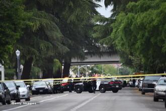 Trei barbati albi impuscati mortal intr-un presupus atac rasist, in California. Atacatorul ar fi strigat