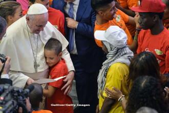 Papa Francisc a comparat centrele de detentie pentru migranti cu lagarele de concentrare ale regimului nazist
