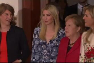 Ivanka Trump, huiduita la un eveniment la care a fost invitata de Merkel, dupa ce si-a aparat tatal