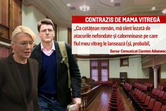 Batalie dura pentru averea de 800 mil. euro lasata de Dan Adamescu. Fiul, Alexander, acuzat de mama vitrega: