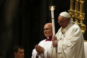 Papa Francisc, la Slujba de Înviere: Credinciosul de azi a intrat într-o rutină opresivă