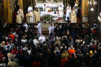 Vizita Papei Francisc. Sfânta Liturghie, urmată de predică, la Catedrala Sfântul Iosif