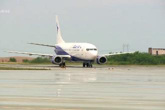 Avion întors la Cluj după 40 de minute, din cauza unei presupuse defecțiuni la un motor