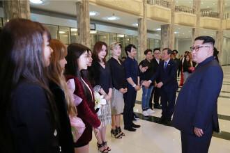 Gest neobişnuit al lui Kim Jong Un. Liderul, profund emoţionat de concertul sud-coreean