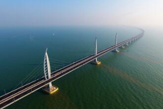 China va inaugura cel mai lung pod maritim din lume. VIDEO