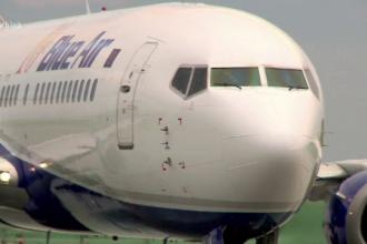 Un avion Blue Air nu a mai ajuns în Capitală și a aterizat la Constanța