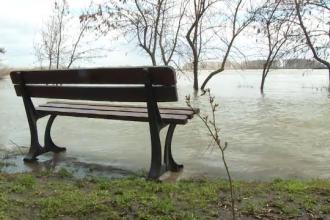 """Dunărea are 617 centimetri la Galați: """"Frumos de văzut, dar să nu fie în pericol orașul"""""""