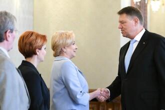 Viorica Dăncilă l-a sunat pe Klaus Iohannis, înainte ca președintele să o reclame la CCR