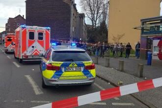 Zeci de persoane rănite în Germania, după ce 2 trenuri s-au ciocnit