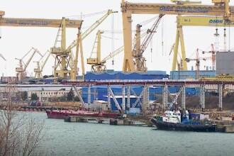 Zeci de persoane, confirmate cu coronavirus la Şantierul Naval Damen din Galaţi