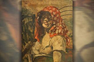 Portretul unei iubite a lui Hitler, pictat chiar de el, scos la licitaţie