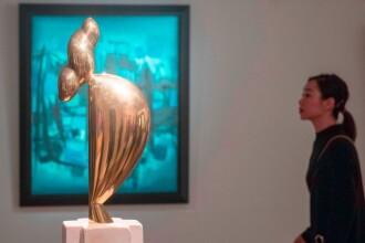 Operă a lui Constantin Brâncuşi, scoasă la licitaţie pentru o sumă uriaşă