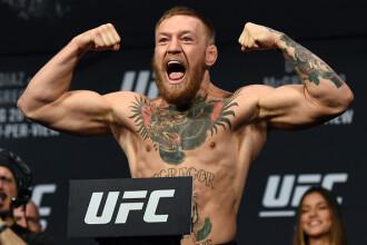 Luptătorul MMA Conor McGregor s-a predat poliției după ce ar fi atacat un alt sportiv