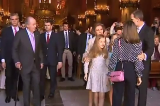 """Letizia, huiduită după gestul considerat """"ofensator"""" la adresa reginei Sofia"""