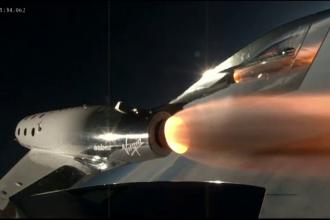 Avionul spațial, testat cu succes. VSS Unity va trimite turiști în spațiu