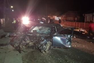 Accident cu 4 răniţi pe o şosea din Bistriţa. Una din victime, dusă de părinţi la spital
