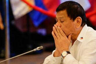 """Rodrigo Duterte: """"Pur și simplu îl iubesc pe Xi Jinping. Îmi înțelege problemele"""""""