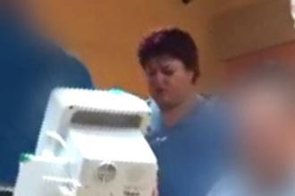 Cum a fost sancționată asistenta din Oradea filmată în timp ce țipa la pacienți