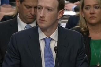 """Mark Zuckerberg, audiat în Congresul SUA: """"A fost greșeala mea și îmi pare rău"""""""