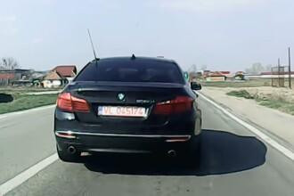Sancțiunea primită de șoferița din BMW care a șicanat în trafic un alt șofer, în Vâlcea