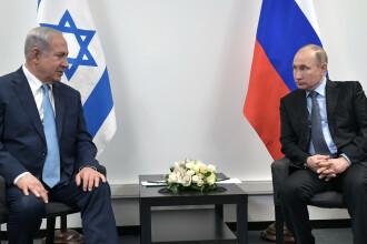 Vladimir Putin consideră Israelul o țară rusofonă.