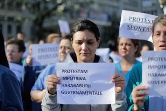 Angajaţii Institutului pentru Boli Cardiovasculare C. C. Iliescu sunt din nou în stradă