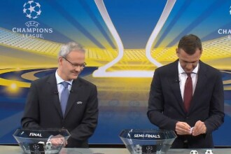 Semifinalele Ligii Campionilor: Bayern - Real Madrid şi Liverpool - AS Roma