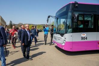 Cum arată autobuzele cu dotări de ultimă generație care circulă pe străzile din Cluj-Napoca