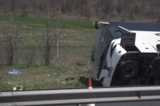 6 morți și 20 de răniți, în urma unui accident rutier produs în Bulgaria