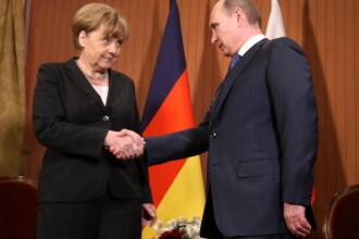 Întâlnire Merkel - Putin. Ce subiecte vor dezbate cei 2 lideri politici
